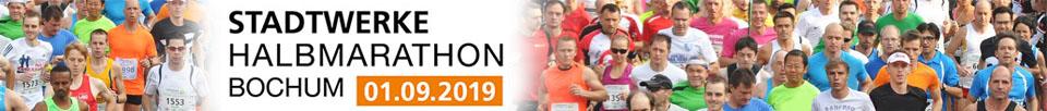 Stadtwerke Halbmarathon Bochum 2019 logo