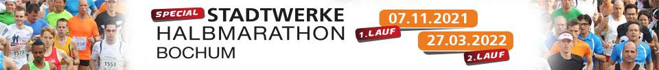 Stadtwerke Halbmarathon Bochum 2021 logo